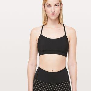 Lululemon Y Back Sports Bra Black Size L